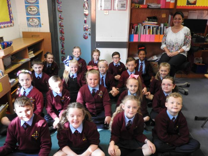 Mrs Dunne's Primary 4 class
