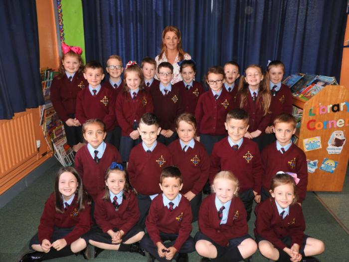 Mrs McClean's Primary 4 class